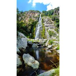 Cascada El Vino en Vertical