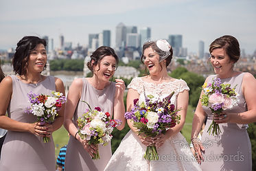 bride-shares-a-joke-with-her-bridesmaids