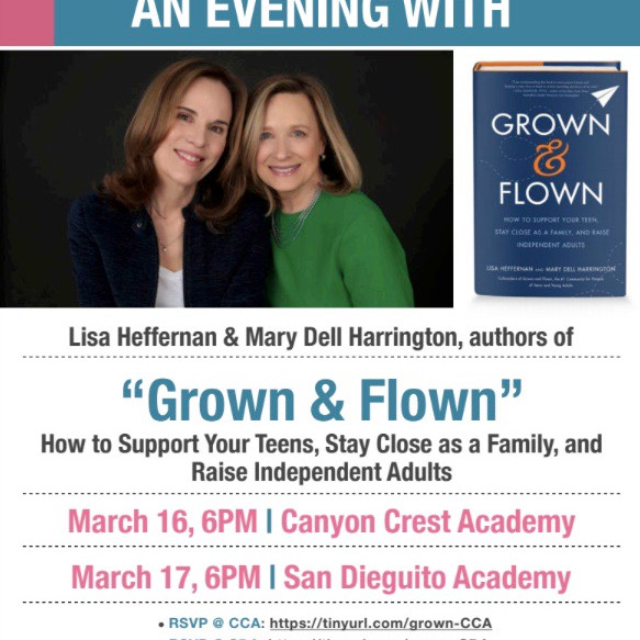 """""""Grown & Flown"""" How to Support Your Teens, Stay Close as a Family, and Raise Independent Adults (1)"""
