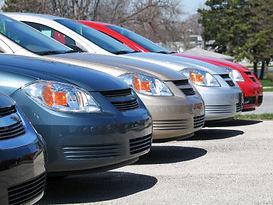 auto collision rental car arrangements