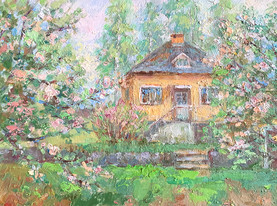 Berga. Oil on canvas