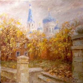 Gatchina. Oil on canvas