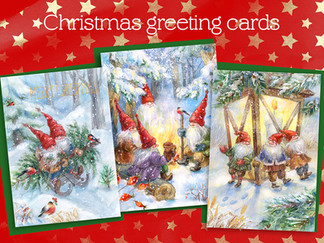 Chirstmas greeting cards