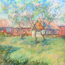 Öland. Oil on canvas