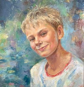 Daniel. Oil on canvas