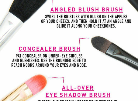 12 Makeup Brushes You Need And How To Use Them🖌