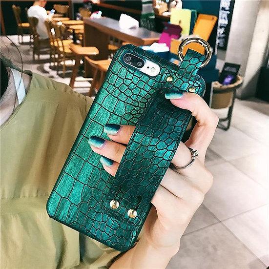 Croc Leather iPhone Case