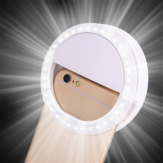 Rechargeable LED Selfie Light for iPhone X