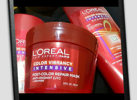 Loreal Color Vibrancy Intensive Hair Care Line Review