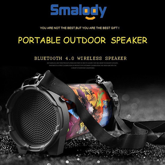 Wireless Bluetooth Speaker Stereo Bass Outdoor AUX