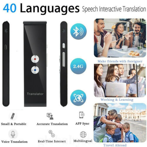 T8 Smart Voice Translatoator Two Way Real