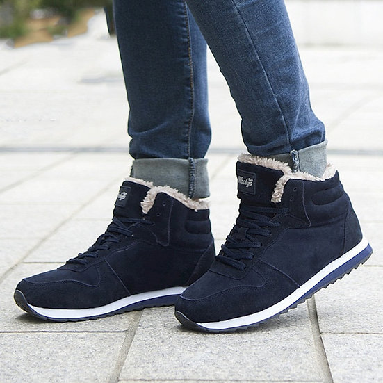 Women's Plush Lined High Top Sneaker