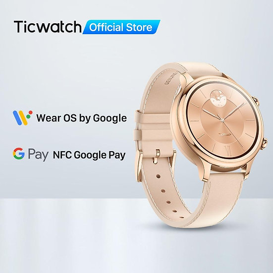 Wear OS by Google  Bluetooth Smart Watch
