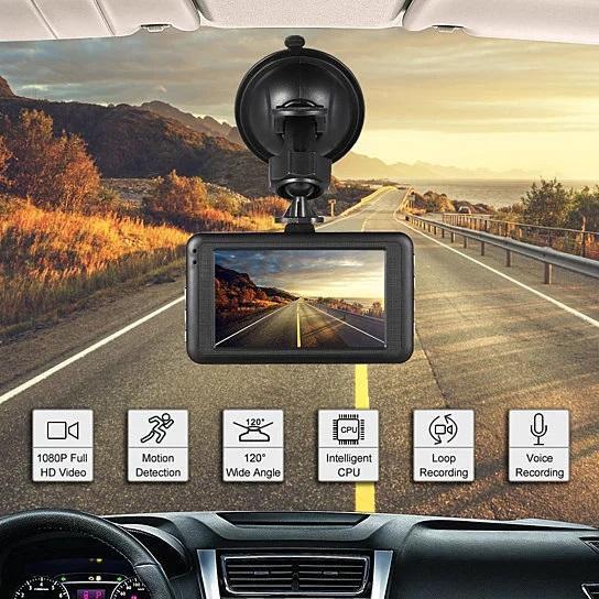 Dash Cam 1080P G-Sensor Looping Car Camera
