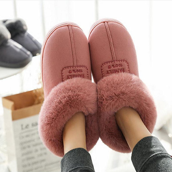 Faux Fur  Plush Anti-Slip Slippers