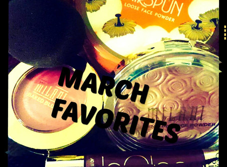 March Favorites!