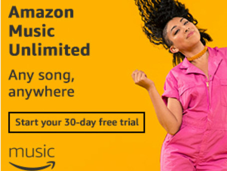 Try Amazon Music Unlimited Free For 30 Days! Start Your Free Trial Now!