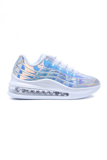 DOWNSHIFTER WOMENS IRIDESCENT CHUNKY SNEAKER