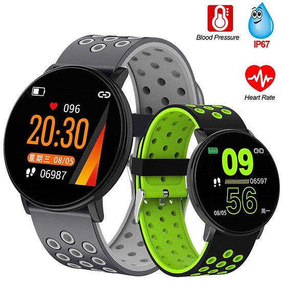 "1.3"" Smart Watch  W/ Blood Pressure Heart Rate"