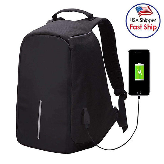 Multi-Function Anti-theft Security Travel Laptop Backpack With Usb