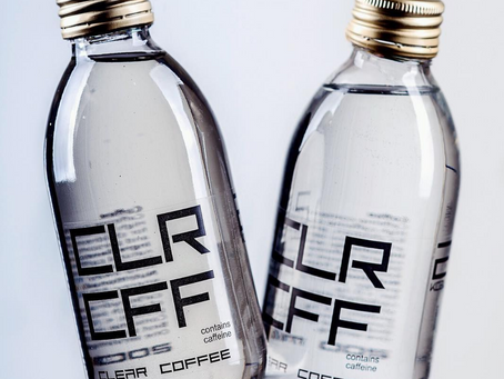 Clear Coffee. The Biggest New Trend