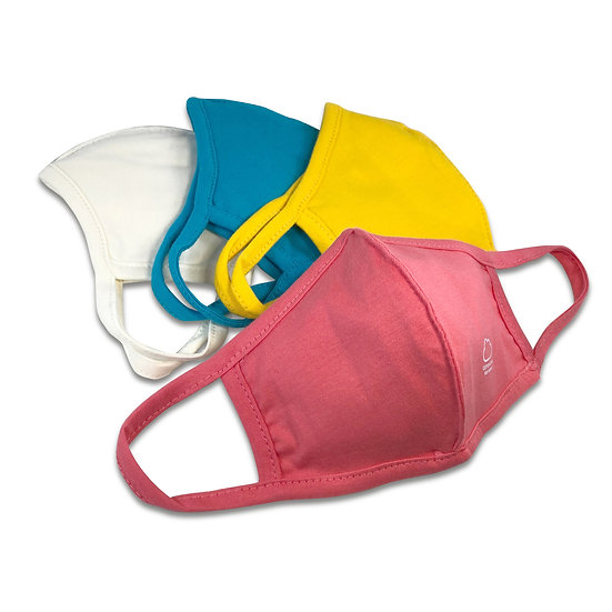Super Soft Kids Face Covering w/ Filter Pocket