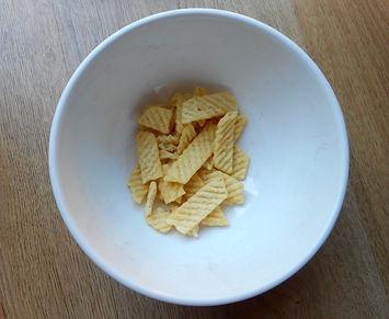 Portion of crisps