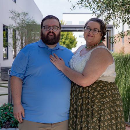Lydia & Josiah Cline