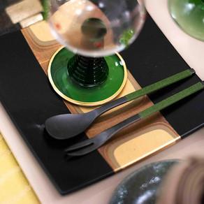 女正月のテーブル