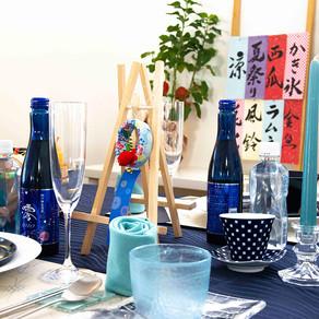 花火のテーブル