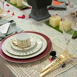 ハーバル・ミントなテーブル