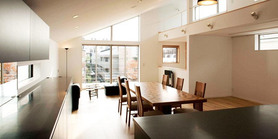 メインダイニングの様に、テーブルコーディネートを楽しむギャラリーが設置されています。