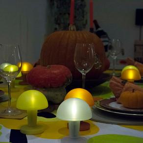 ハローウィンのテーブル