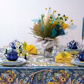 夏の訪れのテーブル
