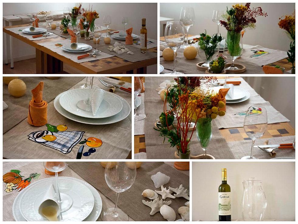 夏の思い出のテーブル
