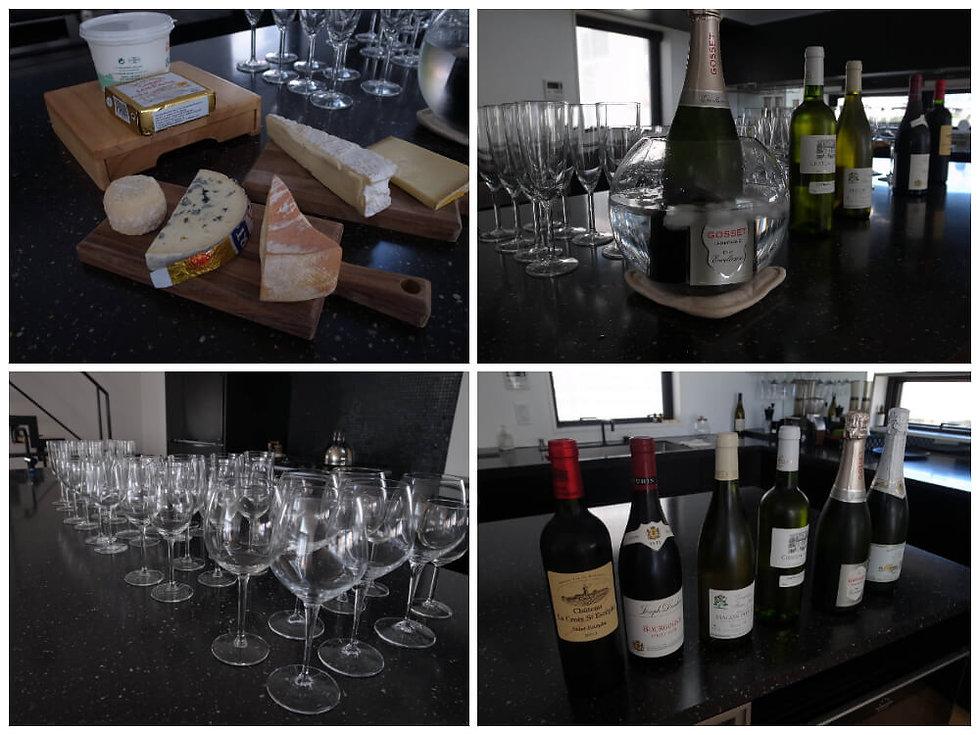 チーズとワインの会