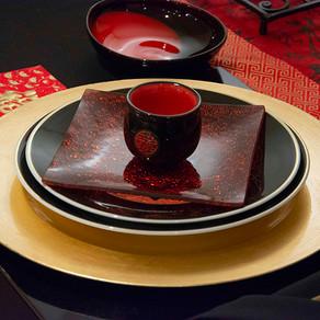 モダンチャイニーズのテーブル