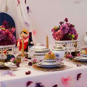 お姫様のテーブル