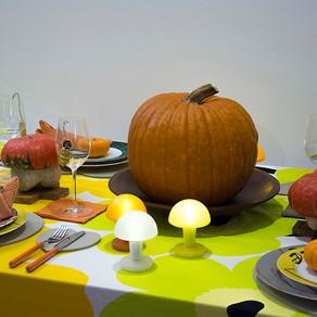 大人のハロウィンのテーブル