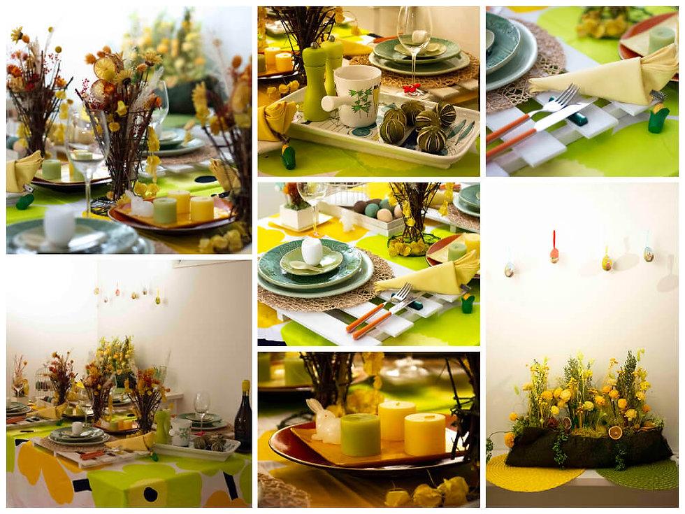 春のカジュアルテーブル