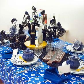 北欧風のテーブル