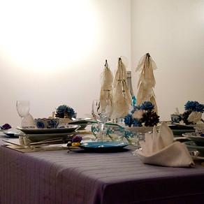 夏のさわやかテーブル