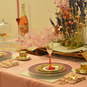 夏のロマンティックテーブル