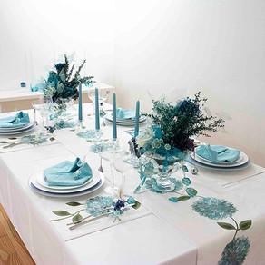 ジューンブライドのテーブル