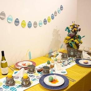 イースターのテーブル