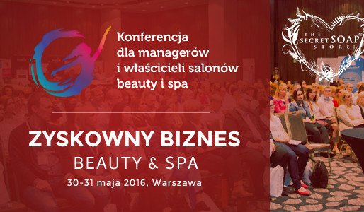 Secret Soap na konferencji Zyskowny Biznes Beauty i Spa