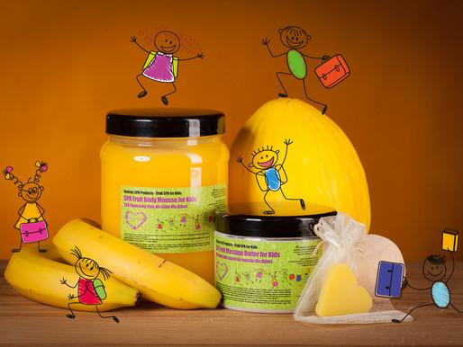 Bananowo - melonowa słodycz Spa Kids dla naszych milusińskich!