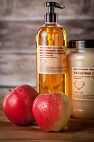 kosmetyki o aromacie maliny z cytryną