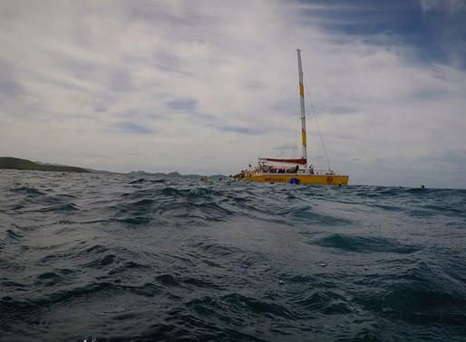 Antigua en Catamarán