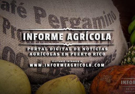 Informe Agrícola